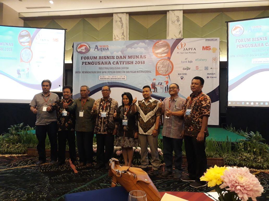 LAMPUNG POST | Terpilih Ketua Bidang Pengembangan Usaha di APCI Pusat, Aribun Dorong Industrialisasi Hilir Catfish