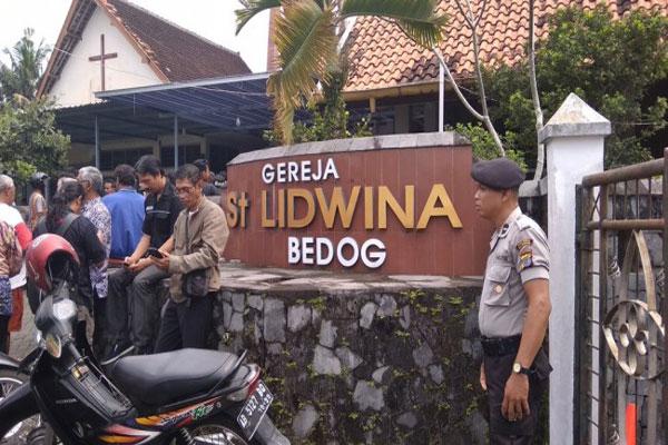 Muhammadiyah Kutuk Penyerangan Gereja St Lidwina