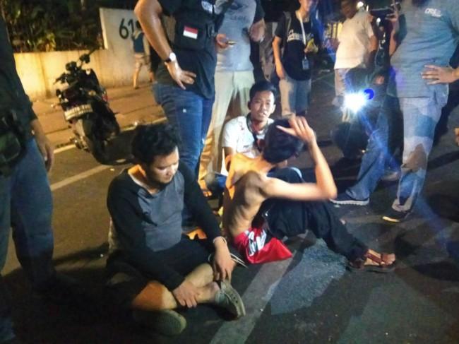 LAMPUNG POST | Polisi Amankan 22 Terduga Provokator dalam Aksi di Kantor YLBHI
