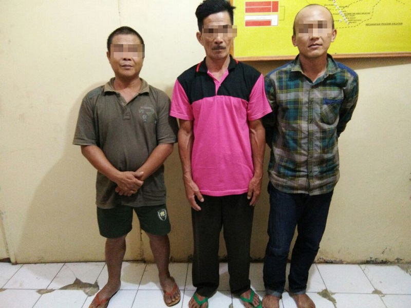 LAMPUNG POST   Main Judi, Tiga Warga Penggawa V Ulu Diamankan Polisi
