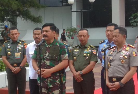 LAMPUNG POST | Rapim TNI-Polri Bahas Pilkada Serentak Hingga Pilpres