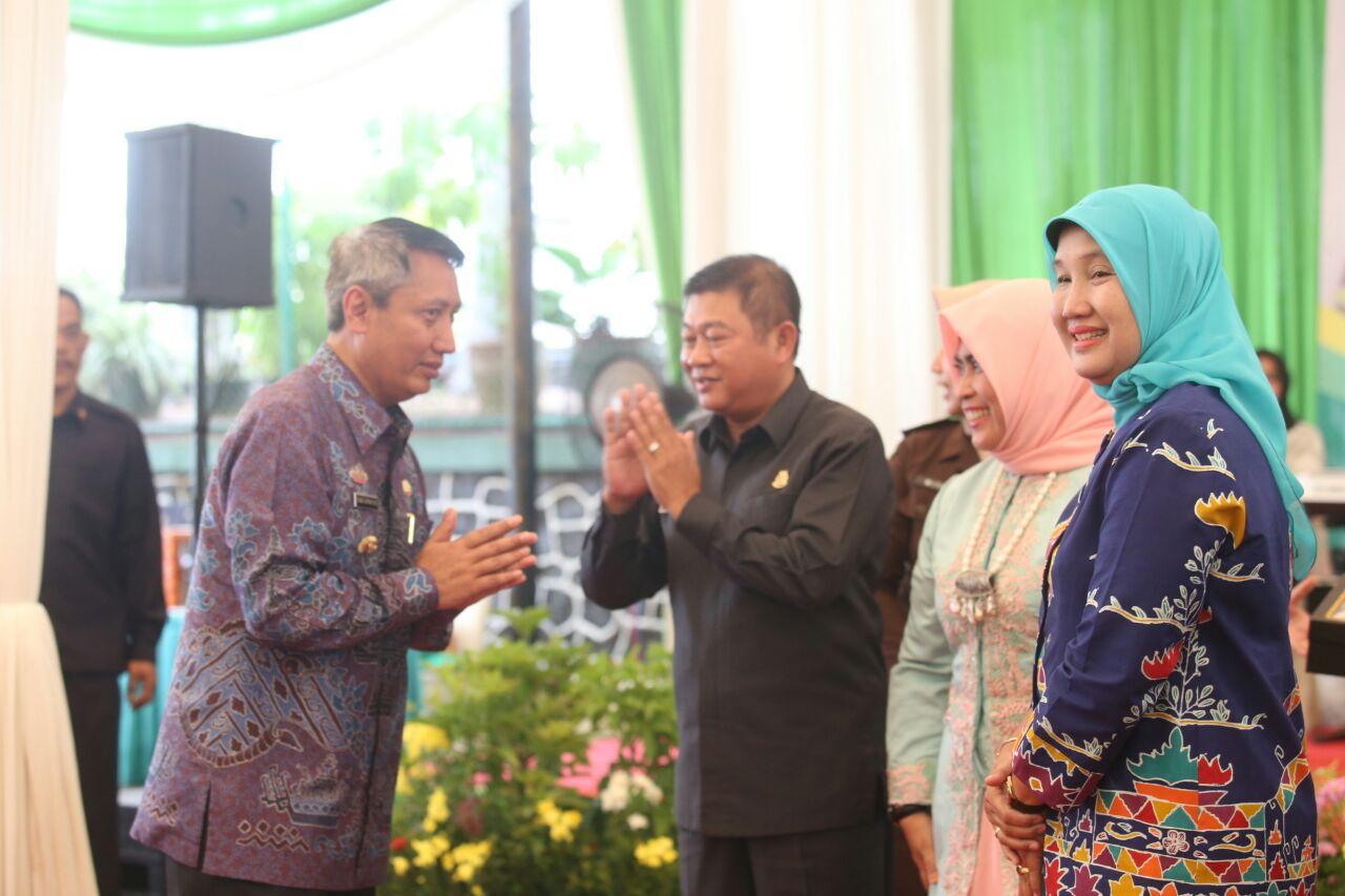Didik Hadiri Pisah Sambut Kepala Kejati Lampung