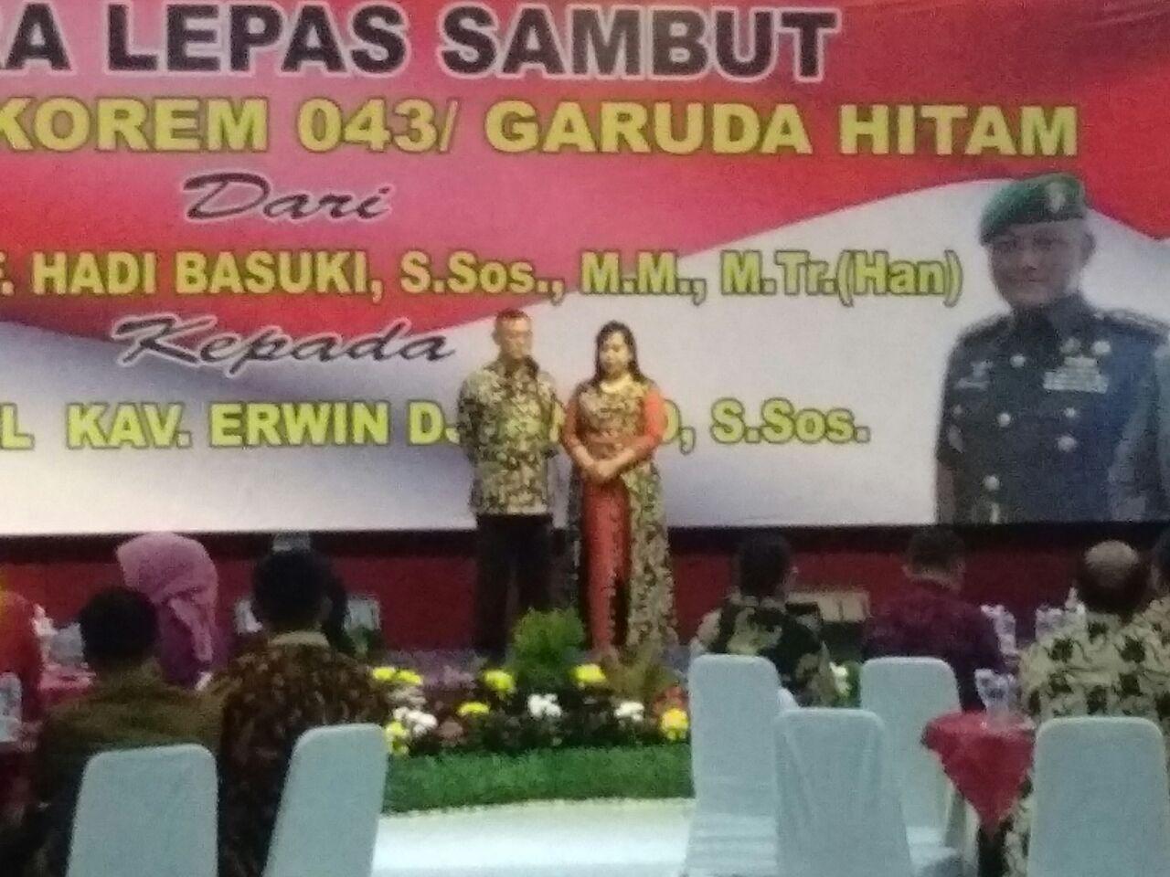 LAMPUNG POST | Danrem Erwin Siap Dukung Forkopimda Lampung