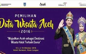 LAMPUNG POST | Duta Wisata Aceh Songsong Destinasi Wisata Halal Dunia