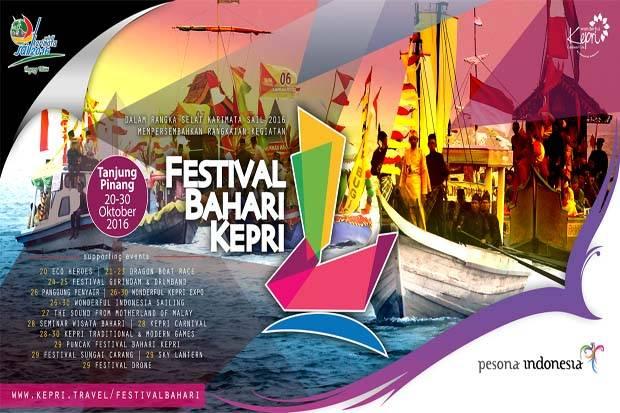 LAMPUNG POST | Festival Bahari Kepri 2016 Jadi Ambassadors Tour
