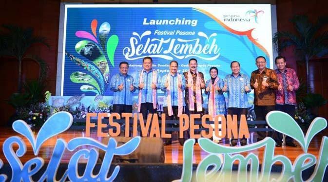 LAMPUNG POST | Heboh! Puncak Festival Pesona Selat Lembeh 2016