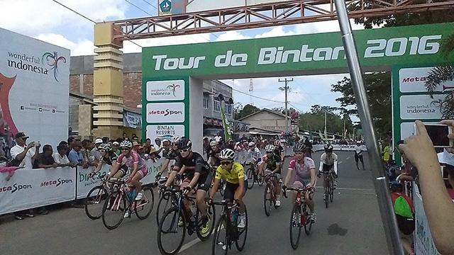 LAMPUNG POST | Tour de Bintan Masuk Kalender Balap Sepeda Dunia