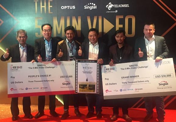 LAMPUNG POST   Video Rotasi Jadi Juara Utama dan Favorit Pilihan Publik di The 5-Min Video Challenge