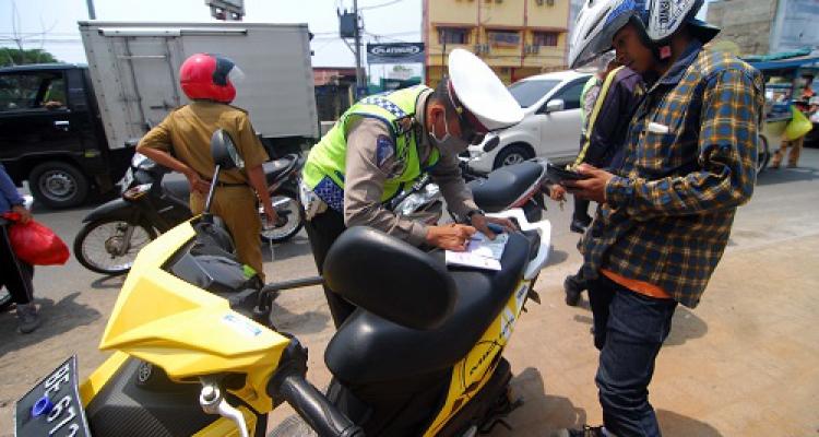 LAMPUNG POST | Sepekan Operasi Simpatik di Tanggamus, Satlantas Beri 217 Terguran
