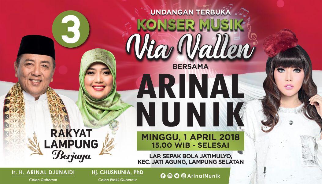 Via Vallen Bakal Sambangi Vyanisty di Lampung