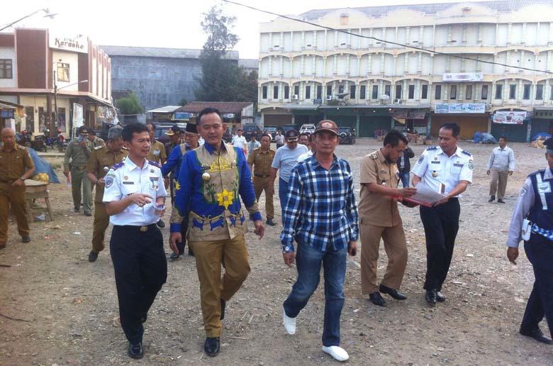 LAMPUNG POST | Jalur Dua Pasar Sarinongko Bakal Dihidupkan Kembali