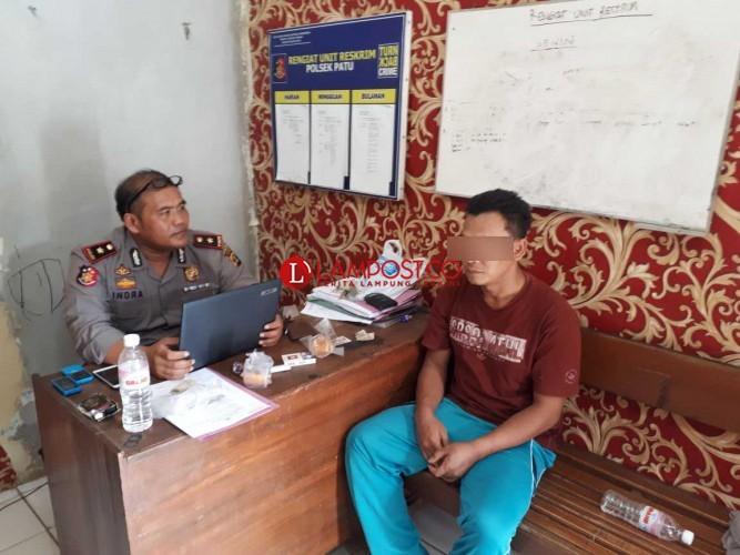 Polsek Padangratu Bekuk Bandar Sabu