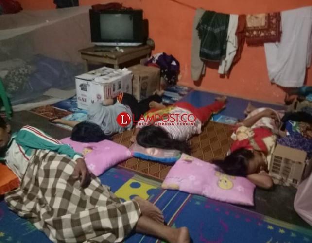 118 KK Korban Terdampak Tsunami Masih Bertahan di Posko Pengungsian