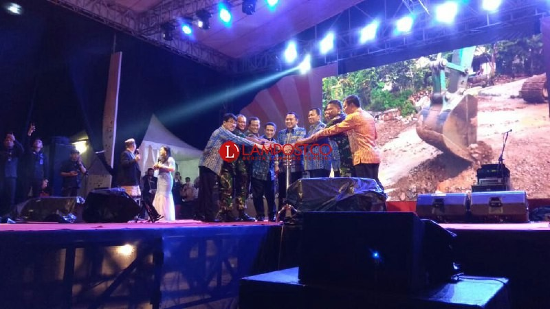 Sukacita Pesta Rakyat Lampung