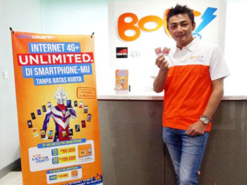 LAMPUNG POST | Pertama di Indonesia, Bolt Luncurkan Kartu Prabayar Unlimited