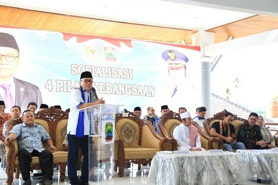LAMPUNG POST | Ketua MPR Imbau Warga Kedepankan Musyawarah