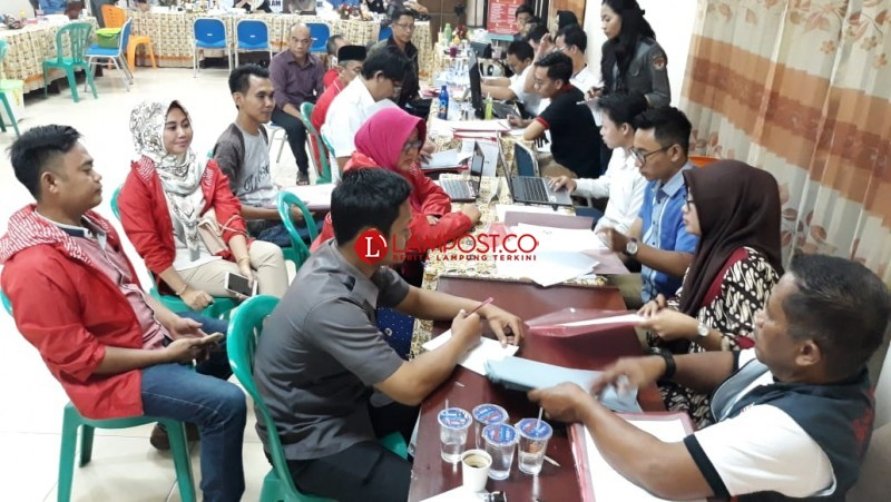 16 Parpol Provinsi Lampung Daftarkan Caleg