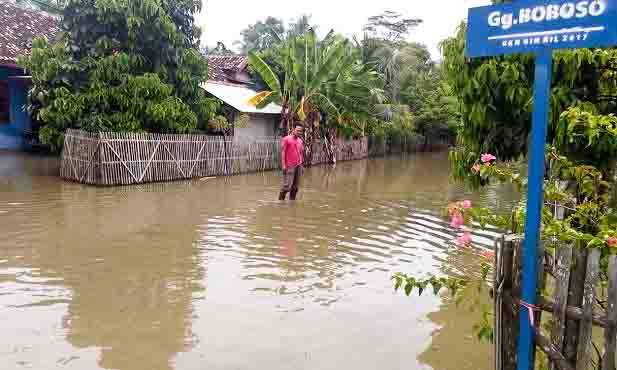 Ini Penyebab Banjir di Bandanhurip, Lampung selatan