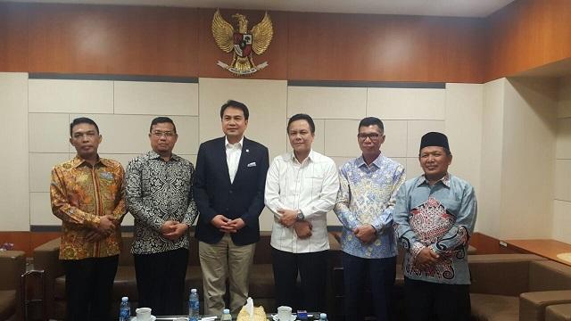 LAMPUNG POST   Genjot Pembangunan, DPRD Lampung Temui Pusat
