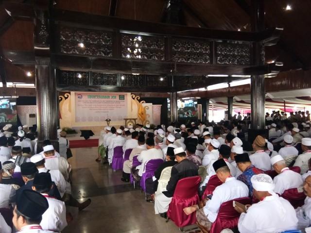 Jokowi Buka Muktamar XII Jatman di Pekalongan