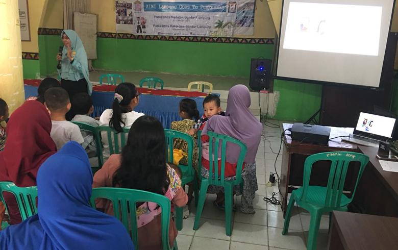 LAMPUNG POST | AIMI Lampung Ajak Masyarakat Paham Gizi Seimbang Untuk Anak