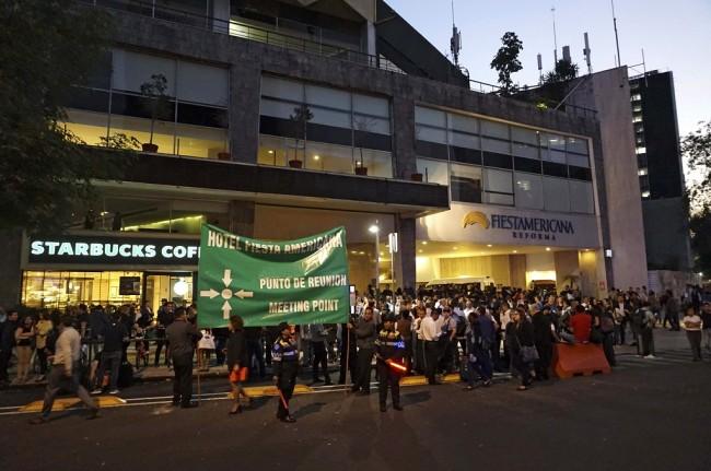 LAMPUNG POST | Meksiko Diguncang Gempa 7,2 SR