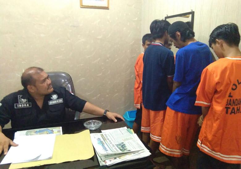 Bongkar Peredaran Ganja di Bandar Lampung, Polisi Bekuk 4 Pelaku