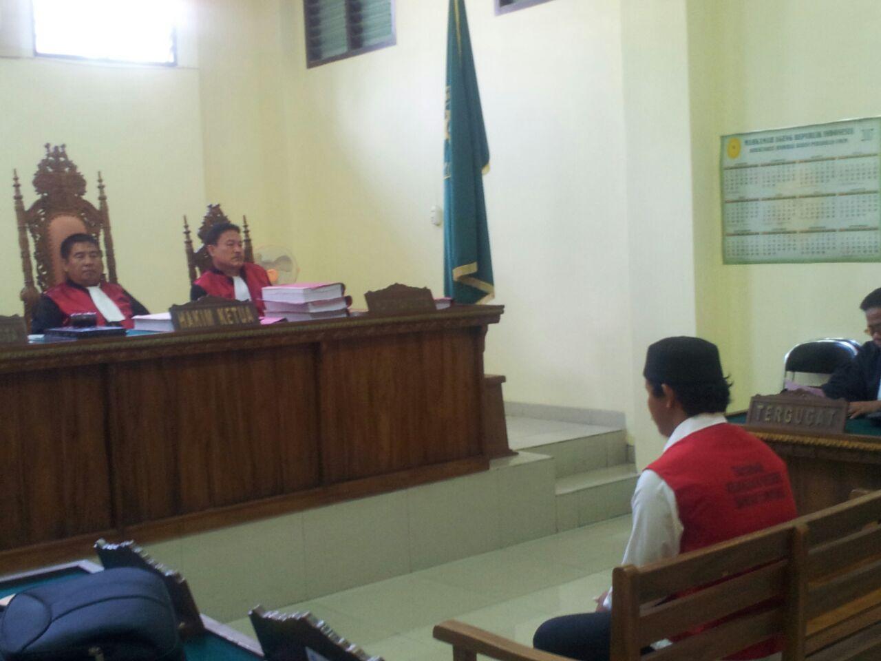 LAMPUNG POST | Bawa Ganja 134 Kilogram, Terdakwa Terancam Hukuman Berat