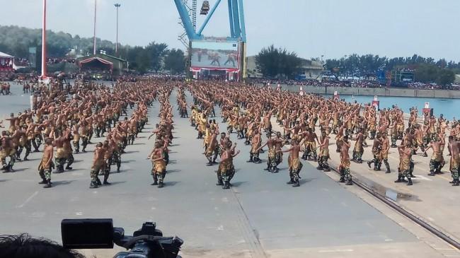 LAMPUNG POST | Drama Kolosal Jenderal Sudirman Meriahkan HUT TNI ke-72