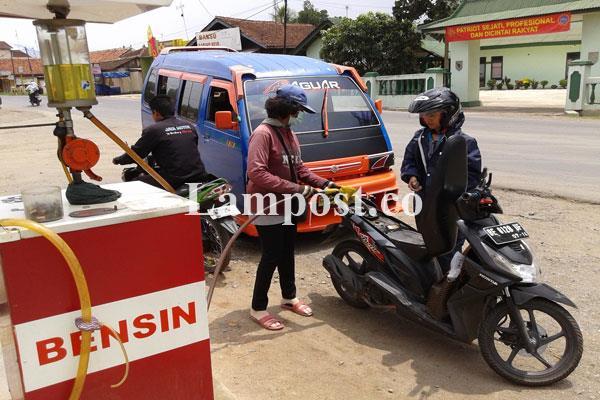 LAMPUNG POST | Polda Lampung Bongkar Praktik Pengoplosan BBM
