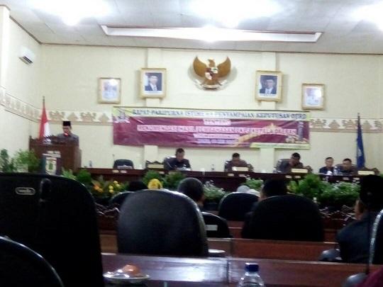 LAMPUNG POST | DPRD Pringsewu Rapat Paripurna LKPJ