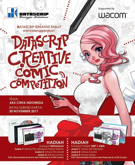 LAMPUNG POST | Datascrip Creative Comic Competition Dimulai bagi Para Pelajar dan Mahasiswa