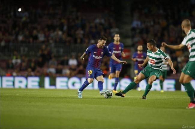 LAMPUNG POST | Barcelona Lumat Eibar Setengah Lusin Gol