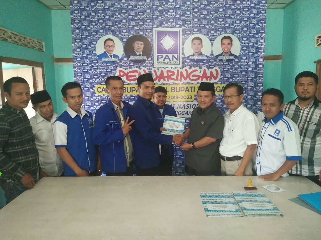 LAMPUNG POST | DPD PAN Tanggamus Terima 7 Pendaftar Bakal Calon Kepala Daerah