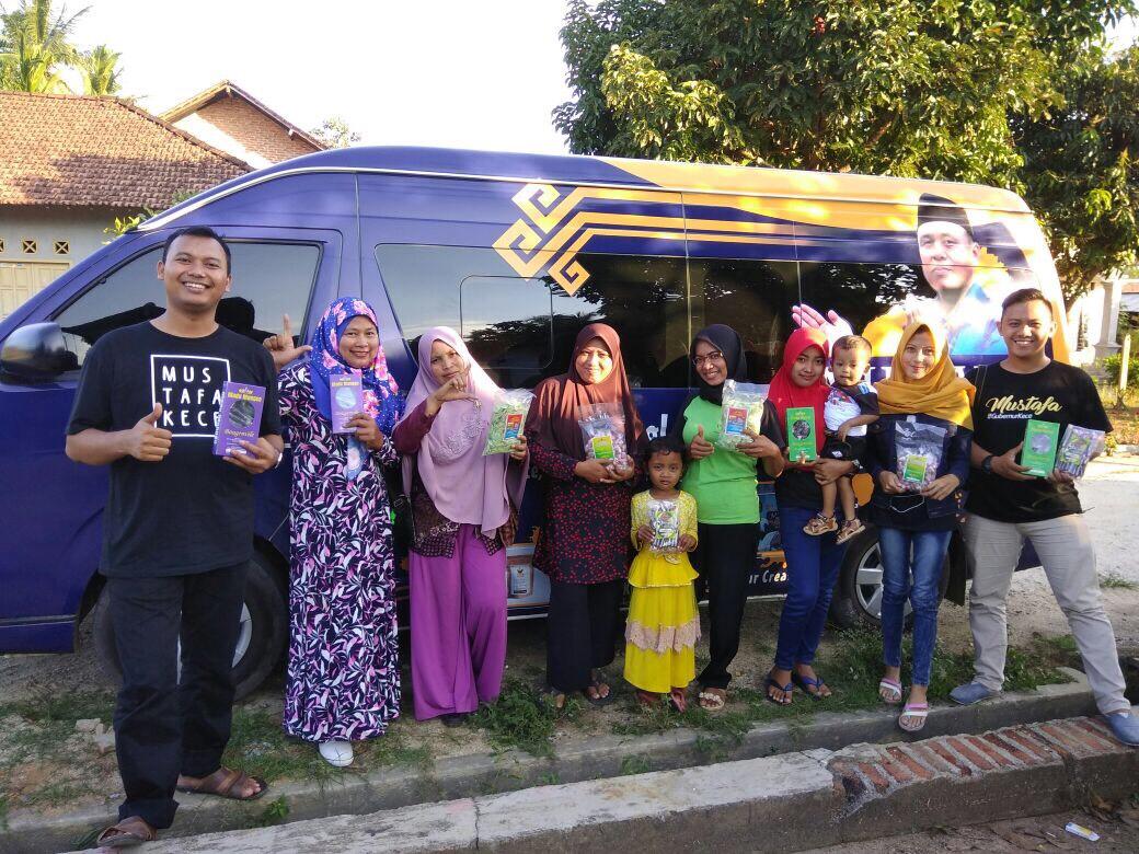 LAMPUNG POST | UMKM dan Industri Rumahan di Lampung Tengah Sambut Baik Program Kece