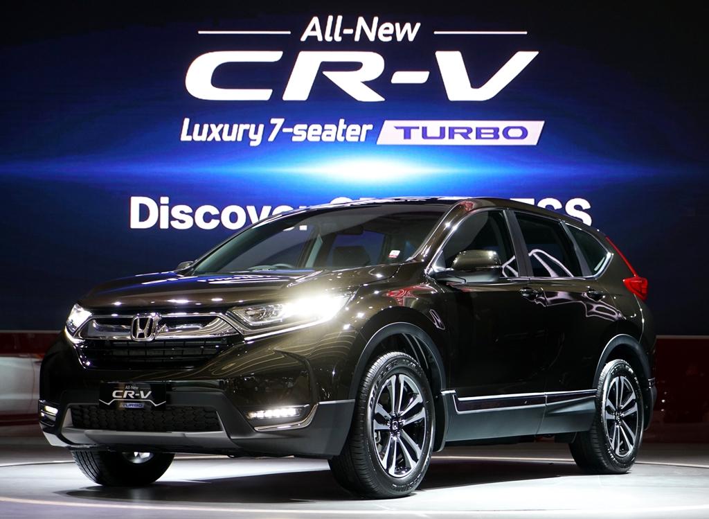 LAMPUNG POST | All New CR-V Penyumbang Utama Penjualan Honda di IIMS 2017
