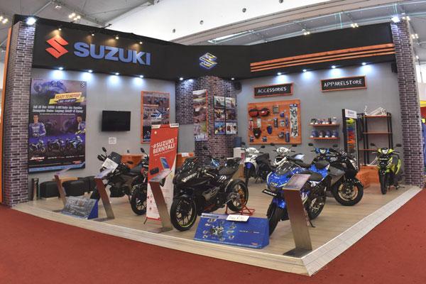 Penjualan Motor Suzuki Naik Dua Kali Lipat di GIIAS 2017