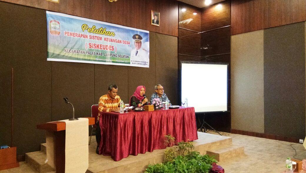 Puluhan Aparatur Desa di Palas Ikuti Pelatihan Siskeudes