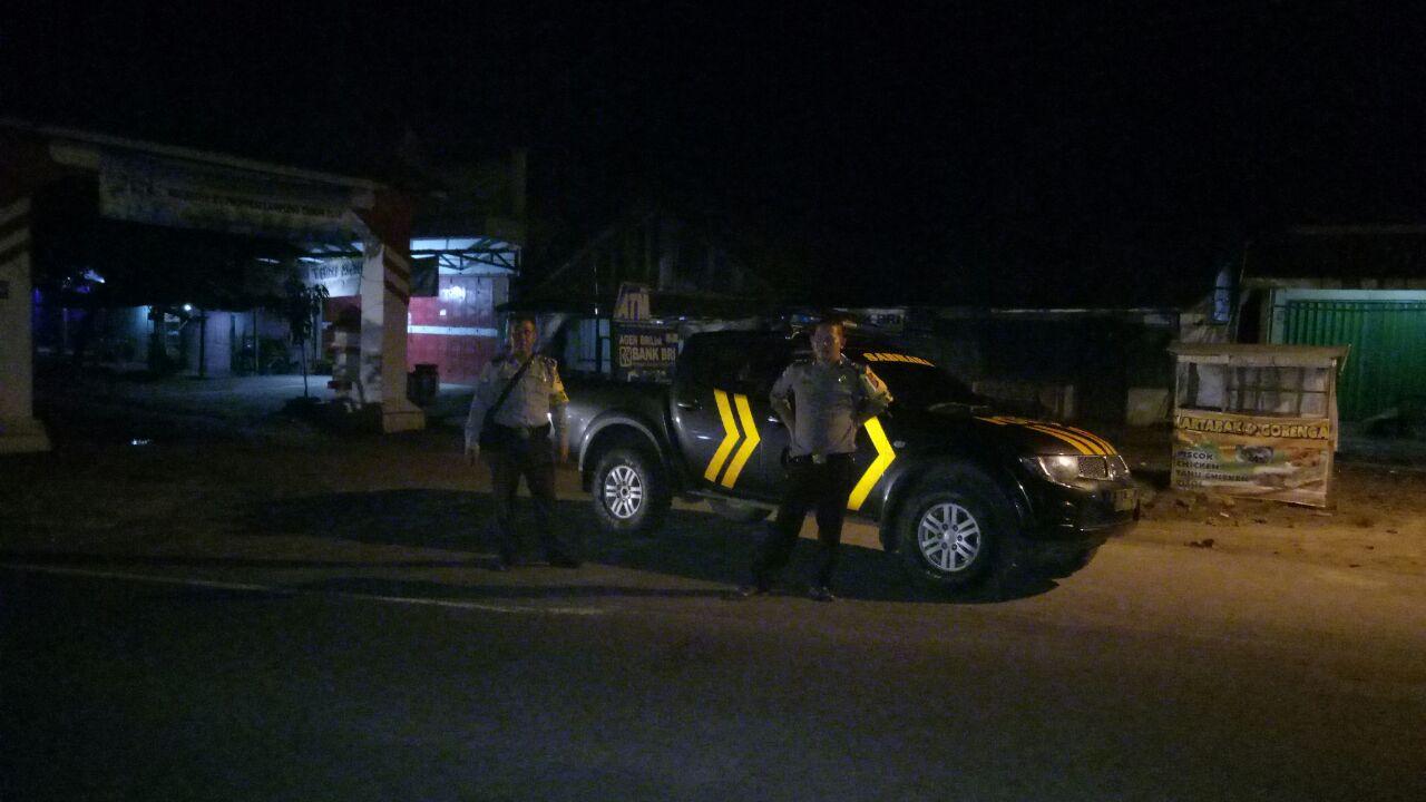 Polsek Blambangan Umpu Patroli Malam Hunting System