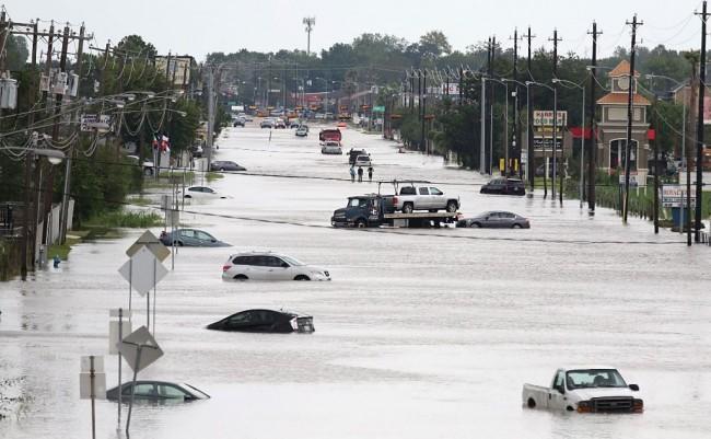 LAMPUNG POST | Terus Meluas, Badai Harvey Bergerak ke Louisiana