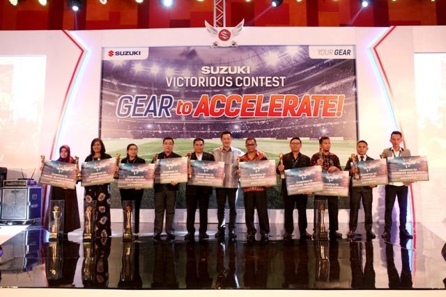 LAMPUNG POST | Suzuki Gelar Victorious Contest