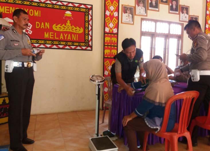 Jemput Pelayanan, Polres Lampura Turun ke Pelosok Desa