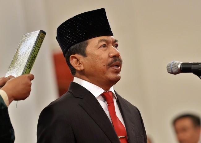 Jokowi Lantik Djoko Setiadi Sebagai Kepala Badan Siber-Sandi Negara