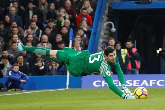LAMPUNG POST | Diisukan ke Madrid, Courtois: Saya Bahagia di Chelsea