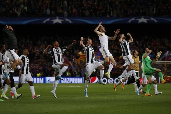 LAMPUNG POST | Singkirkan Barca, Juventus Lolos ke Semifinal Liga Champions