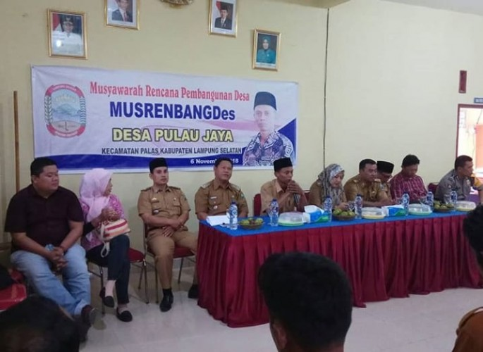 2019, Desa Pulaujaya Proyeksikan Bangun Jalan Dusun