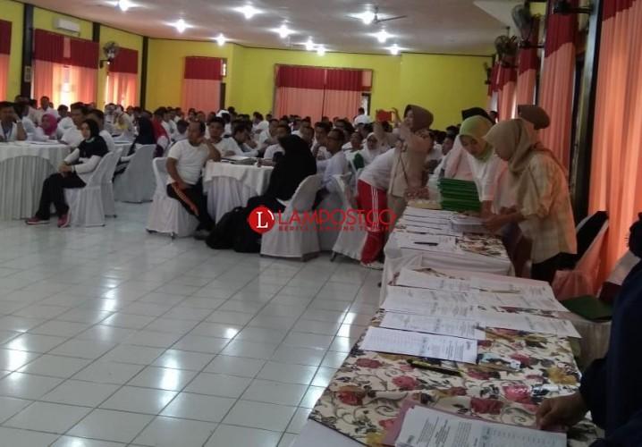 205 Calon Anggota Bawaslu Kabupaten/Kota Tes Kesehatan