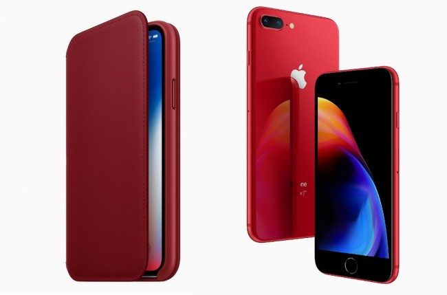 Apple Resmi Rilis iPhone 8 dan 8 Plus Warna Merah