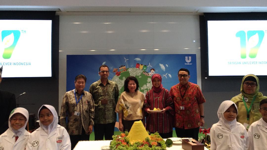 LAMPUNG POST | Peringati HUT Ke-17 yayasan, Unilever Gelar Sustainability Day