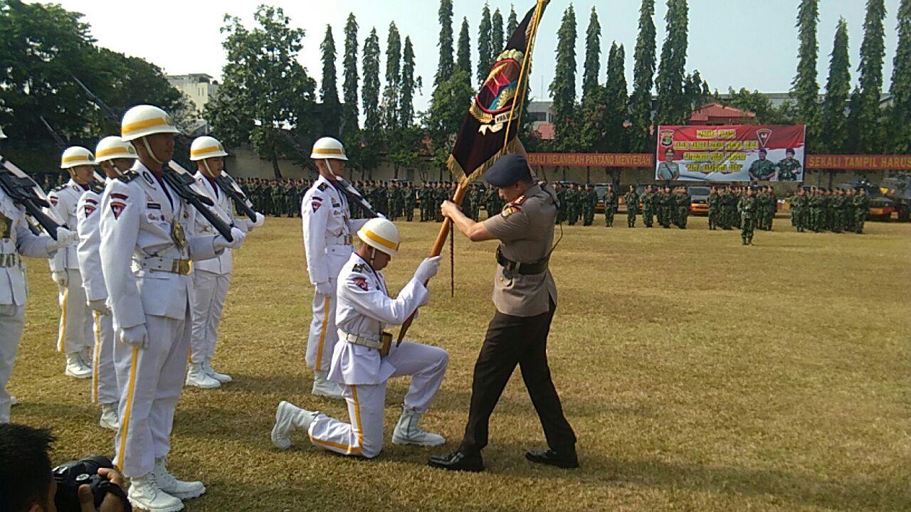 LAMPUNG POST   Komandan Satuan Brimob Polda Lampung Diserahterimakan